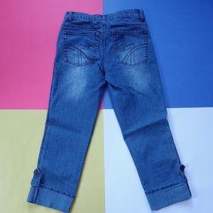 Womens 725 Original Denim Jeans with Cuffed Bottom